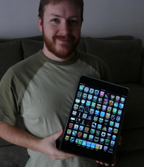 grappige grote namaak tablet